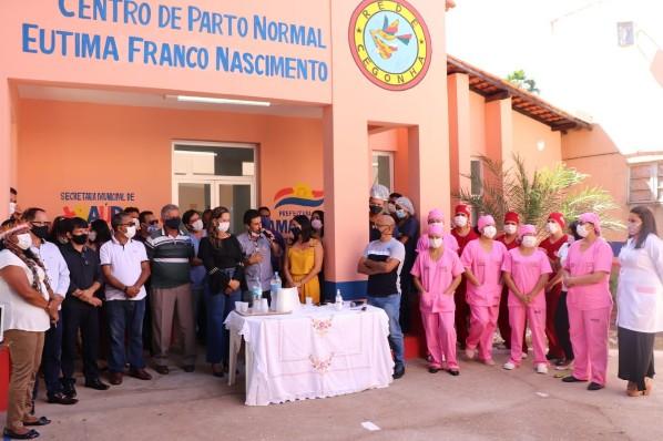 Amarante - Centro de Parto Normal é inaugurado.